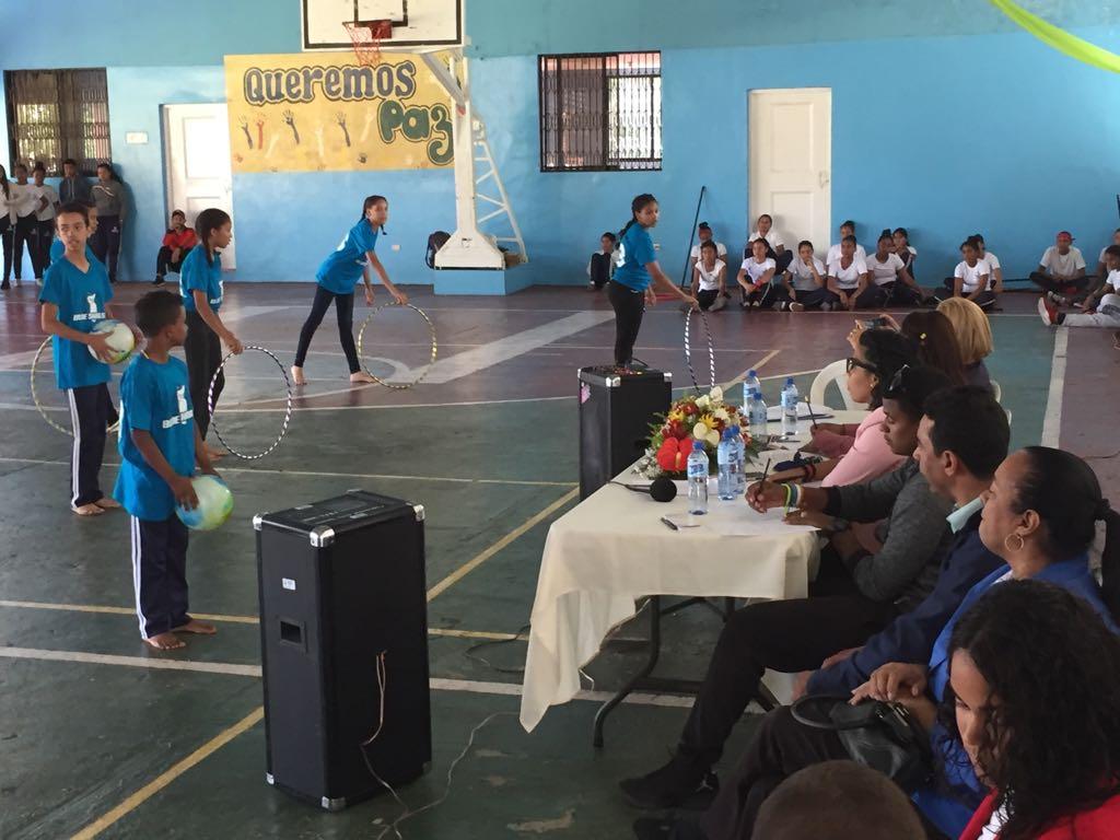 Presentan 15va Convivencias curriculares de educación física