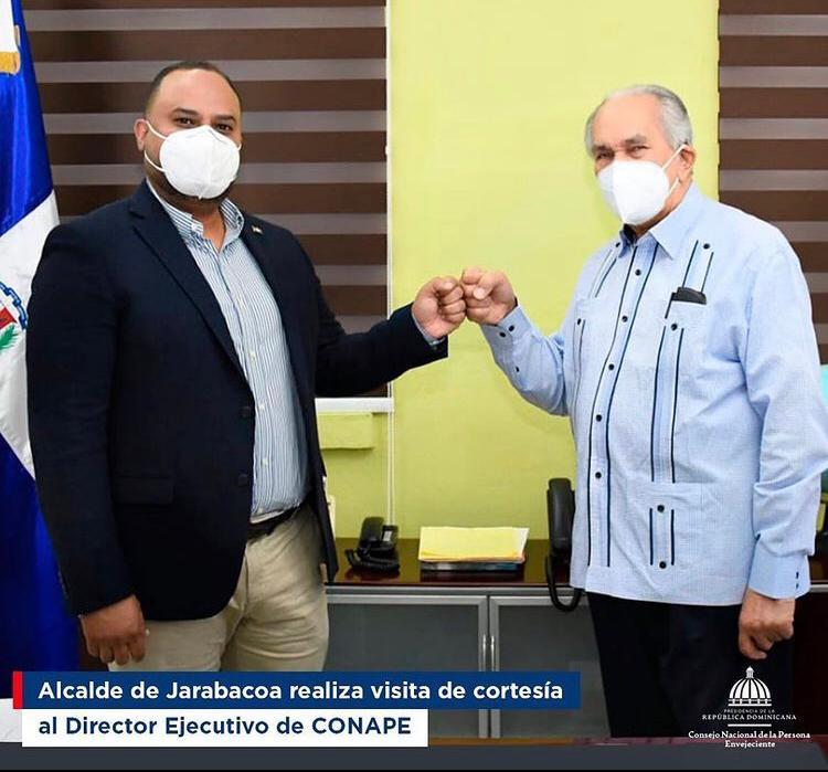 El Alcalde Municipal Realiza Visita de cortesía al director ejecutivo del CONAPE